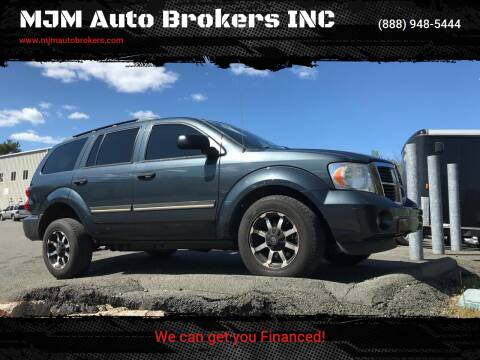 2008 Dodge Durango for sale at MJM Auto Brokers INC in Gloucester MA
