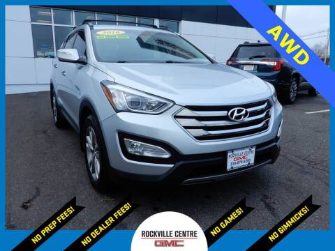 2016 Hyundai Santa Fe Sport for sale at Rockville Centre GMC in Rockville Centre NY