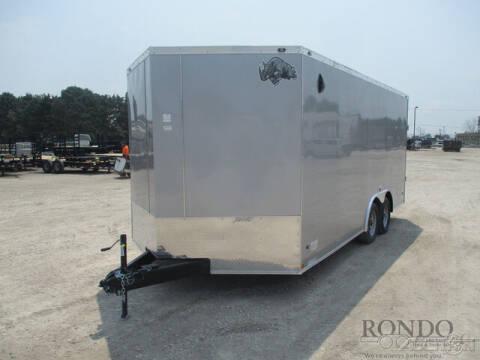 2021 Rhino Enclosed Car Hauler SAHARA 8.5 for sale at Rondo Truck & Trailer in Sycamore IL
