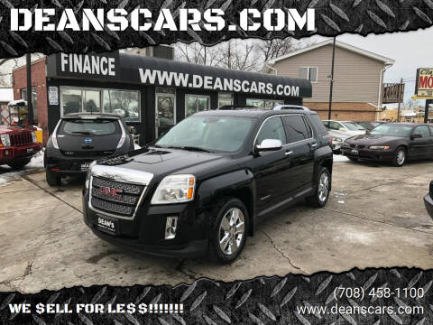2015 GMC Terrain for sale at DEANSCARS.COM in Bridgeview IL