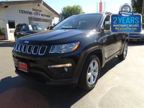 2018 Jeep Compass for sale at Centre City Motors in Escondido CA