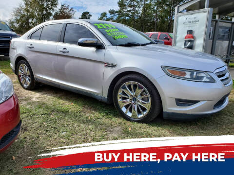 2011 Ford Taurus for sale at Rodgers Enterprises in North Charleston SC