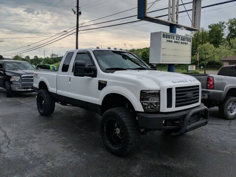 2008 Ford F-250 Super Duty for sale at Route 22 Autos in Zanesville OH