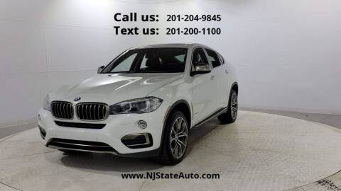 2016 BMW X6 for sale at NJ State Auto Used Cars in Jersey City NJ