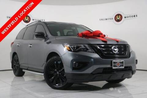 2018 Nissan Pathfinder for sale at INDY'S UNLIMITED MOTORS - UNLIMITED MOTORS in Westfield IN