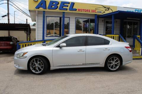2011 Nissan Maxima for sale at Abel Motors, Inc. in Conroe TX