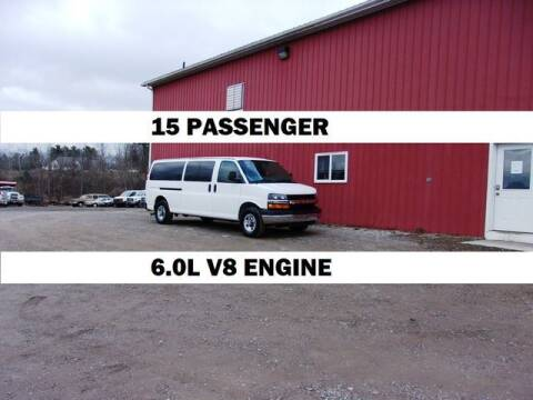 2013 Chevrolet Express Passenger for sale at Windy Hill Auto and Truck Sales in Millersburg OH