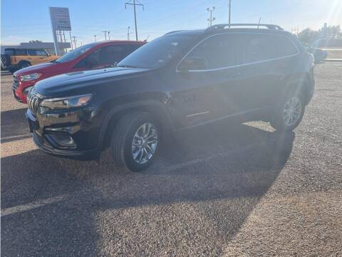 2021 Jeep Cherokee for sale at STANLEY FORD ANDREWS in Andrews TX