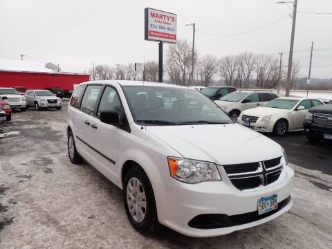 2016 Dodge Grand Caravan for sale at Marty's Auto Sales in Savage MN