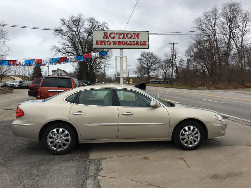 2009 Buick LaCrosse for sale at Action Auto Wholesale in Painesville OH