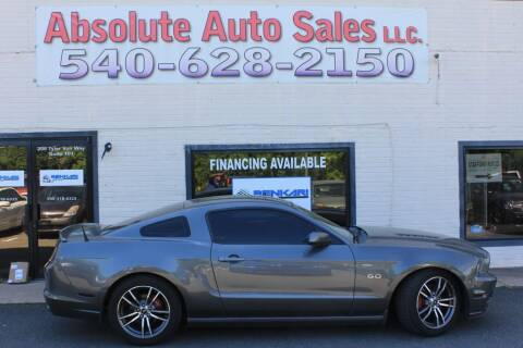 2014 Ford Mustang for sale at Absolute Auto Sales in Fredericksburg VA