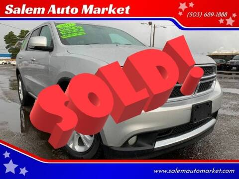 2011 Dodge Durango for sale at Salem Auto Market in Salem OR