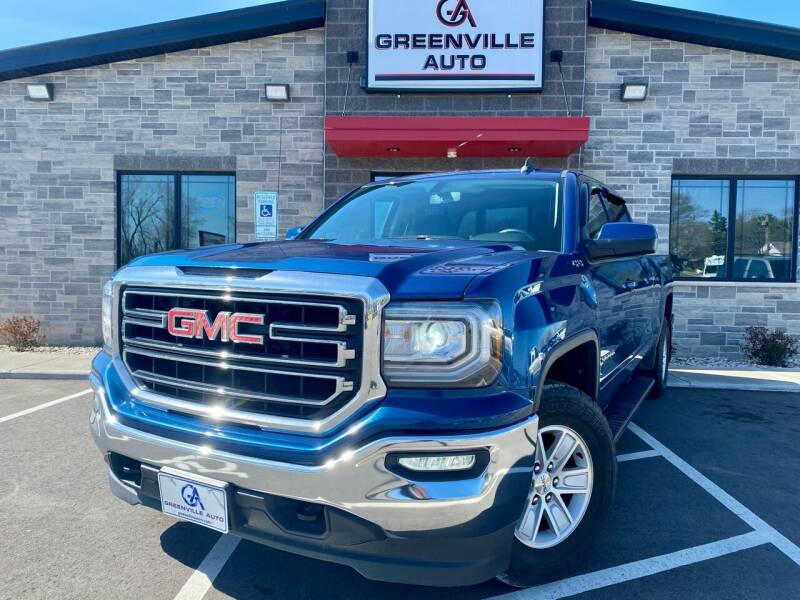2017 GMC Sierra 1500 for sale at GREENVILLE AUTO in Greenville WI