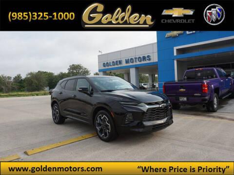 2020 Chevrolet Blazer for sale at GOLDEN MOTORS in Cut Off LA