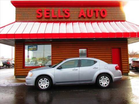 2014 Dodge Avenger for sale at Sells Auto INC in Saint Cloud MN