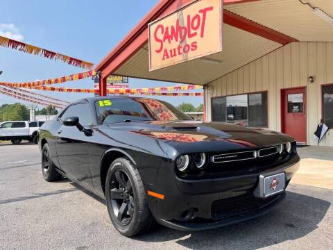 2015 Dodge Challenger for sale at Sandlot Autos in Tyler TX