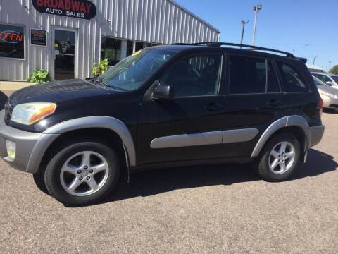2001 Toyota RAV4 for sale at Broadway Auto Sales in South Sioux City NE