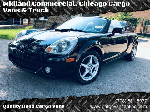 2004 Toyota MR2 Spyder for sale at Midland Commercial. Chicago Cargo Vans & Truck in Bridgeview IL