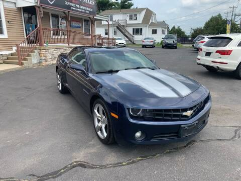2010 Chevrolet Camaro for sale at Lux Car Sales in South Easton MA
