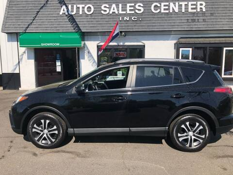 2018 Toyota RAV4 for sale at Auto Sales Center Inc in Holyoke MA