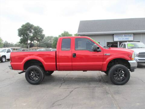 2002 Ford F-350 Super Duty for sale at Steffes Motors in Council Bluffs IA