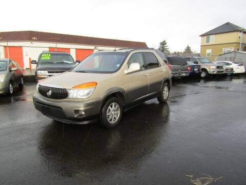 2003 Buick Rendezvous for sale at ARISTA CAR COMPANY LLC in Portland OR