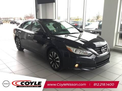 2018 Nissan Altima for sale at COYLE GM - COYLE NISSAN - Coyle Nissan in Clarksville IN