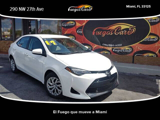 2017 Toyota Corolla for sale at Fuego's Cars in Miami FL