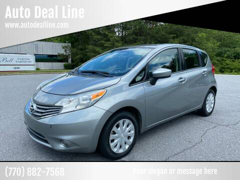 2015 Nissan Versa Note for sale at Auto Deal Line in Alpharetta GA