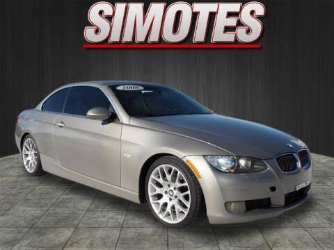 2008 BMW 3 Series for sale at SIMOTES MOTORS in Minooka IL
