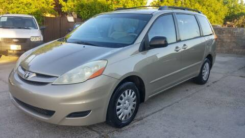 2007 Toyota Sienna for sale at Carspot Auto Sales in Sacramento CA