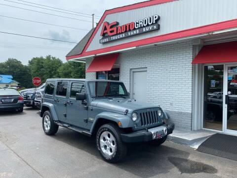 2014 Jeep Wrangler Unlimited for sale at AG AUTOGROUP in Vineland NJ