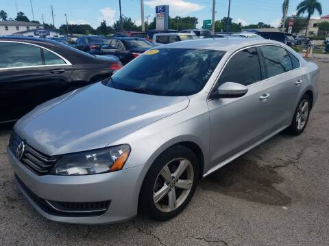 2012 Volkswagen Passat for sale at P S AUTO ENTERPRISES INC in Miramar FL