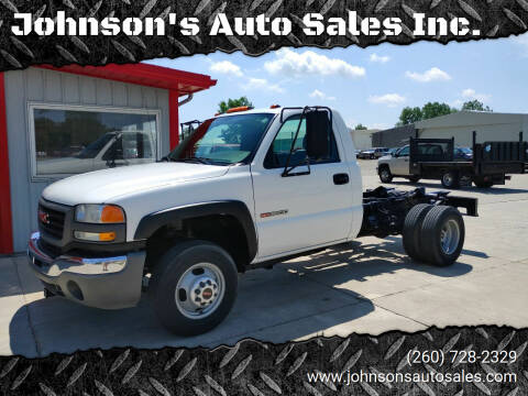 2007 GMC Sierra 3500 CC Classic for sale at Johnson's Auto Sales Inc. in Decatur IN