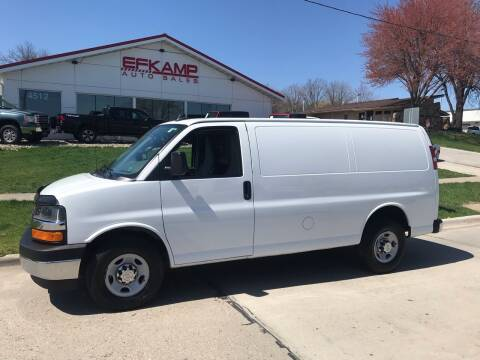 2017 Chevrolet Express Cargo for sale at Efkamp Auto Sales LLC in Des Moines IA