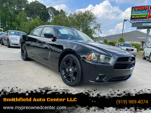2011 Dodge Charger for sale at Smithfield Auto Center LLC in Smithfield NC