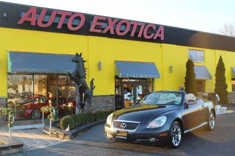 2007 Lexus SC 430 for sale at Auto Exotica in Red Bank NJ