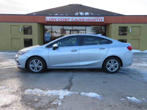 2018 Chevrolet Cruze for sale at Low Cost Cars North in Whitehall OH