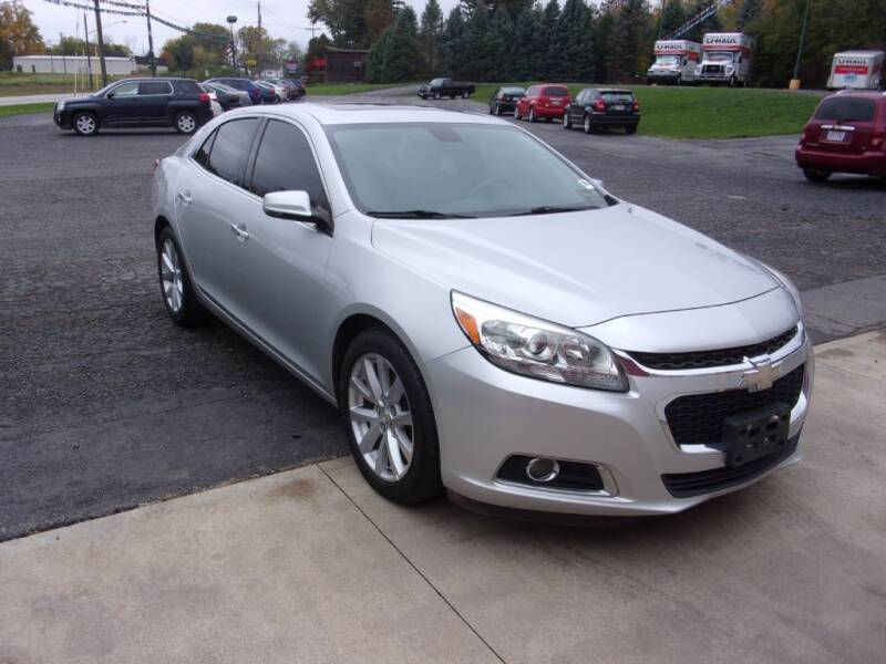 2014 Chevrolet Malibu for sale at Birmingham Automotive in Birmingham OH