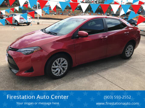 2017 Toyota Corolla for sale at Firestation Auto Center in Tyler TX
