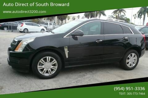 2012 Cadillac SRX for sale at Auto Direct of South Broward in Miramar FL