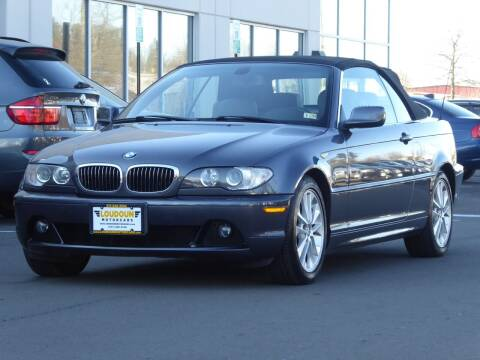 2006 BMW 3 Series for sale at Loudoun Used Cars - LOUDOUN MOTOR CARS in Chantilly VA