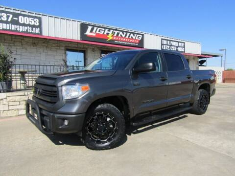 2017 Toyota Tundra for sale at Lightning Motorsports in Grand Prairie TX