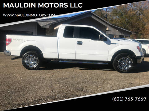 2014 Ford F-150 for sale at MAULDIN MOTORS LLC in Sumrall MS