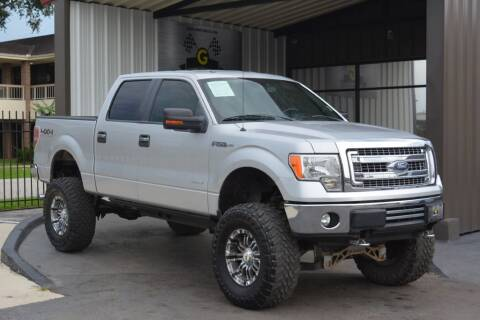 2013 Ford F-150 for sale at G MOTORS in Houston TX