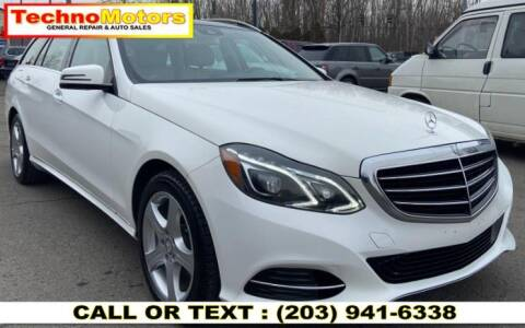 2015 Mercedes-Benz E-Class for sale at Techno Motors in Danbury CT