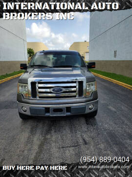 2012 Ford F-150 for sale at INTERNATIONAL AUTO BROKERS INC in Hollywood FL