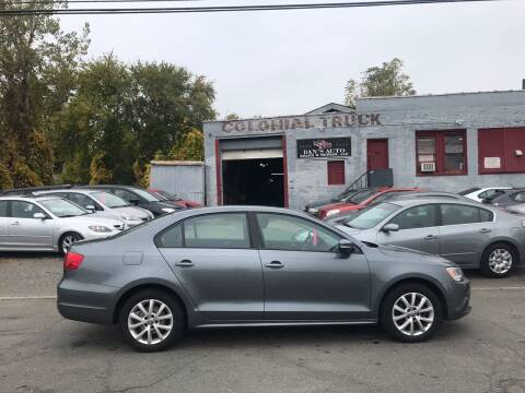 2011 Volkswagen Jetta for sale at Dan's Auto Sales and Repair LLC in East Hartford CT