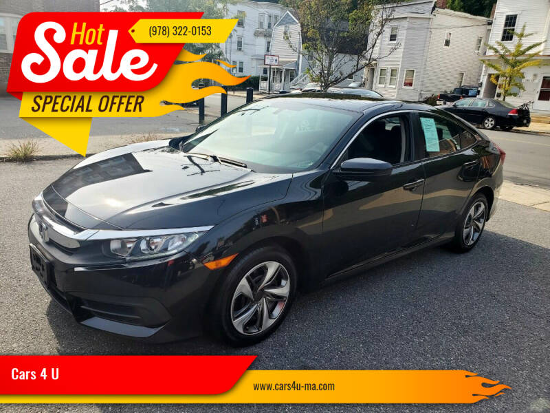 2017 Honda Civic for sale at Cars 4 U in Haverhill MA