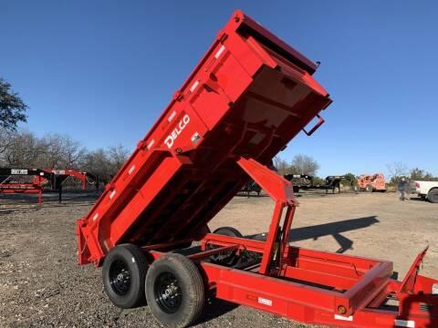 "2021 DELCO  - Dump 72""x12' - Tarp -  for sale at LJD Sales in Lampasas TX"